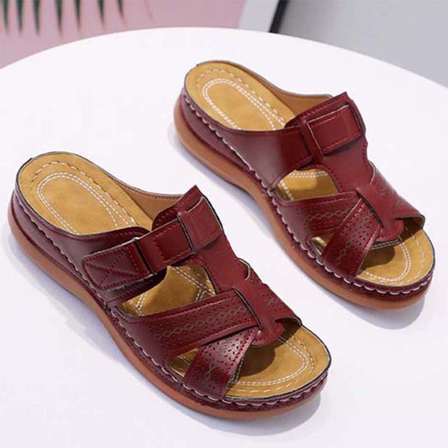 Women's Artificial Leather Sandals