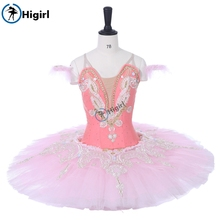 Nutcracker Professional Ballet Tutu Pink,Women Sugar Plum Fairy Performance Fairy Doll Classical Ballet Stage CostumeBT9059A цена в Москве и Питере