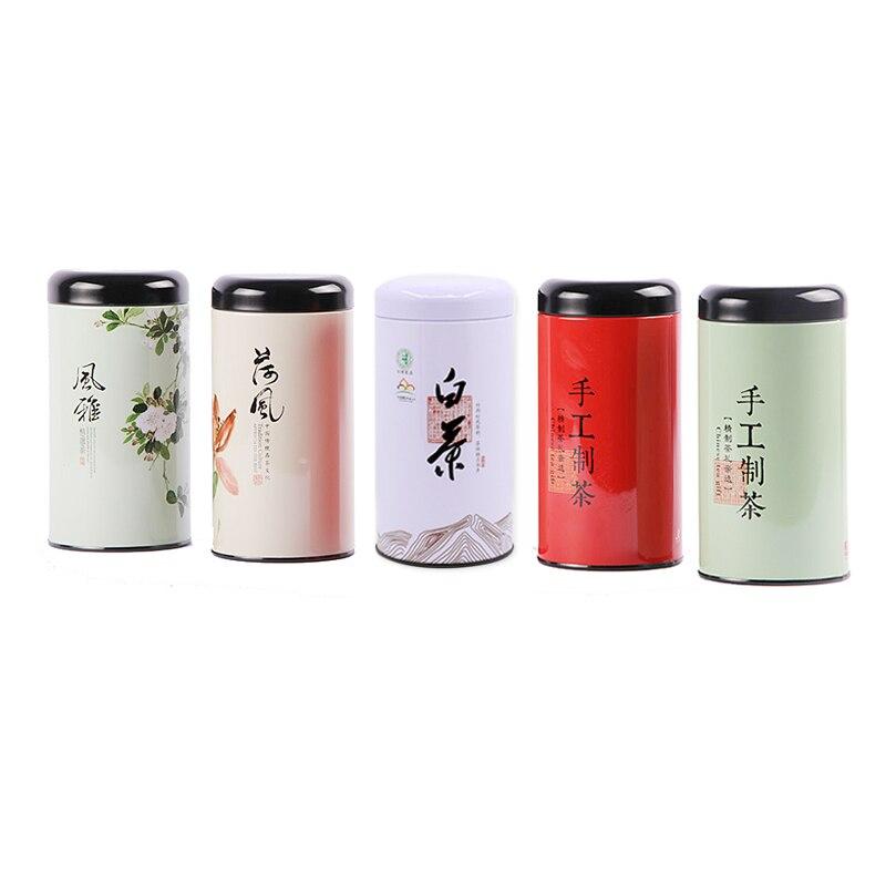 Xin Jia Yi Packaging  Printed Custom Empty Loose Tea Packaging Metal Tin Can
