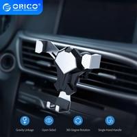 ORICO-soporte de teléfono para la rejilla de ventilación del coche, base de montaje para teléfono móvil de 4-6,5 pulgadas, compatible con iphone, Samsung y Xiaomi