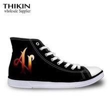 THIKIN Adexe & Nau Printing Female Vulcanized Shoes Teen Girls Boys Can