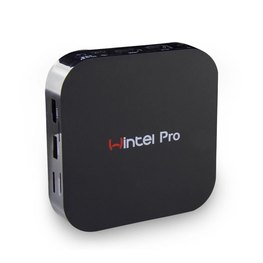 Wintel W8 MINI PC License Win10 Z8350 2/32G Win 10 Wintel Pro Mini PC Intel Wintel W8 Pro 2G 32G 2.4GHz Wifi BT Tv Box