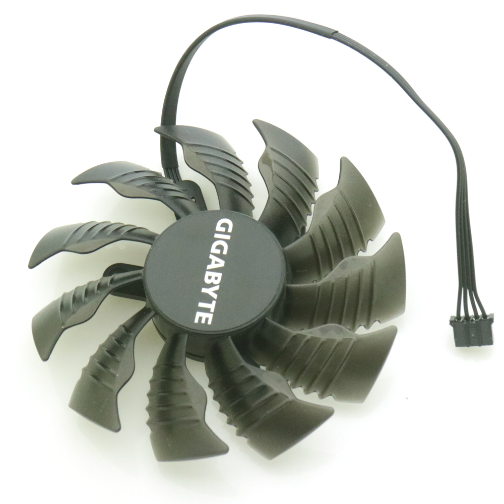 Купить с кэшбэком Free Shipping T129215SU 12V 0.50A 42*42*42mm 85mm VGA Fan For Gigabyte Graphics Card VGA Cooler Cooling Fan