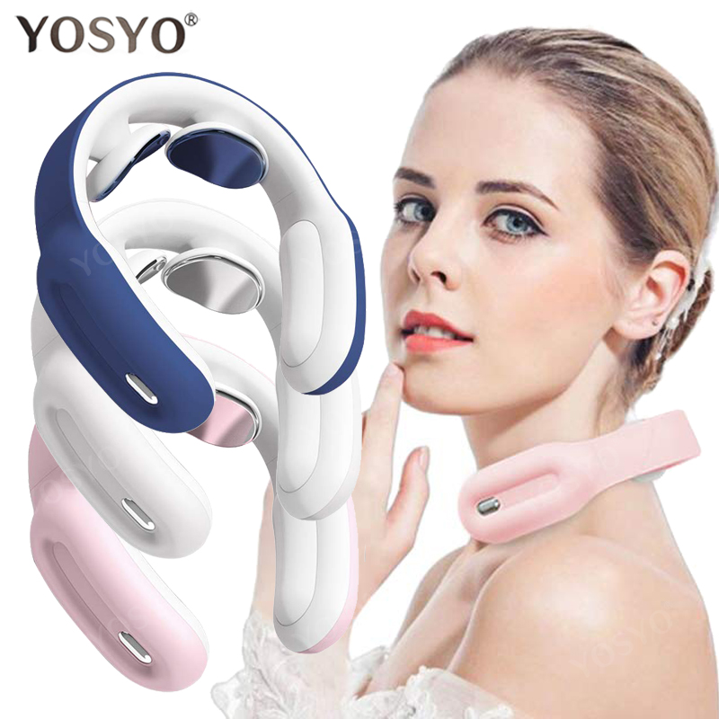 New Remote Smart Neck Shoulder EMS Muscle Massager Trainer Relaxation Electric Pain Relief ToolCervical Vertebra Physiotherapy|Neck Massage  Instrument|   - AliExpress