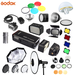 Image 1 - Godox çok fonksiyonlu Aksesuarları AD S17/BD 07/AD L/H200R/EC200/AD B2/RS18/AD S2 /AD S7/AD M Flaş aksesuar için AD200 Flash