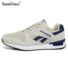 SusuGrace Spring summer Men sneakers Air Mesh Running shoes