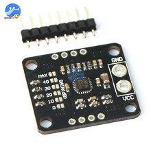 Ts472 módulo amplificador de baixo nível de ruído electret microfone áudio placa pré amplificador com 2.0 v viés saída pda placa de desenvolvimento áudio