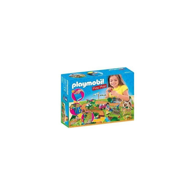 9331 Playmobil Play Map Ride With Ponies Toy Store