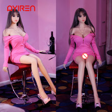AYIREN 158cm Silicone Sex Doll for Men Lifelike Japanese Style Pink Girl Big Breast Love Doll Oral Sexy Toys Anal Adult Toys(China)