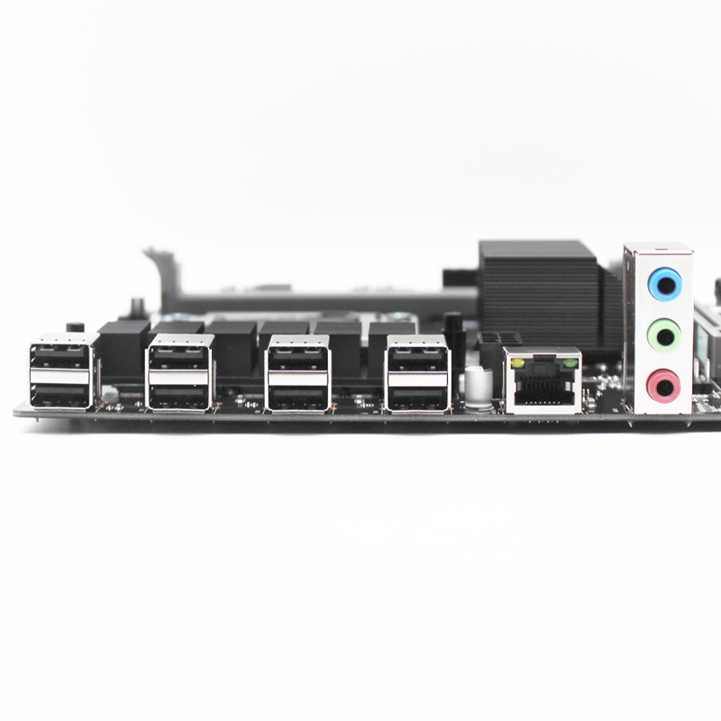 X58 desktop motherboard LGA 1366 support REG ECC DDR3 RAM memory and xeon processor M-ATX USB3.0 AMD RX Series Spell 6