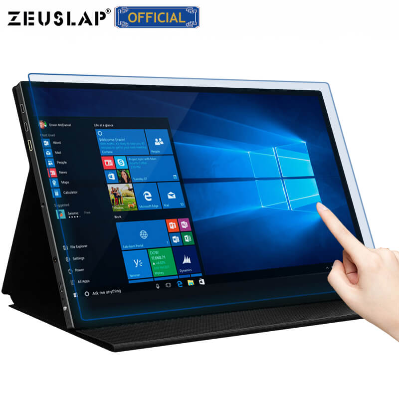 15.6 Inch Touchscreen UHD 4K IPS Portable Display HDR 400 Adobe RGB 100% IPS Portable Monitor For Laptop Pc Computer Monitor