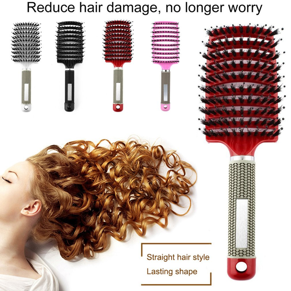 Original Abody Hair Brush Magic Hair Comb Bristle Nylon Hairbrush  Wet Curly Detangle For Salon Hairdressing Styling Tools