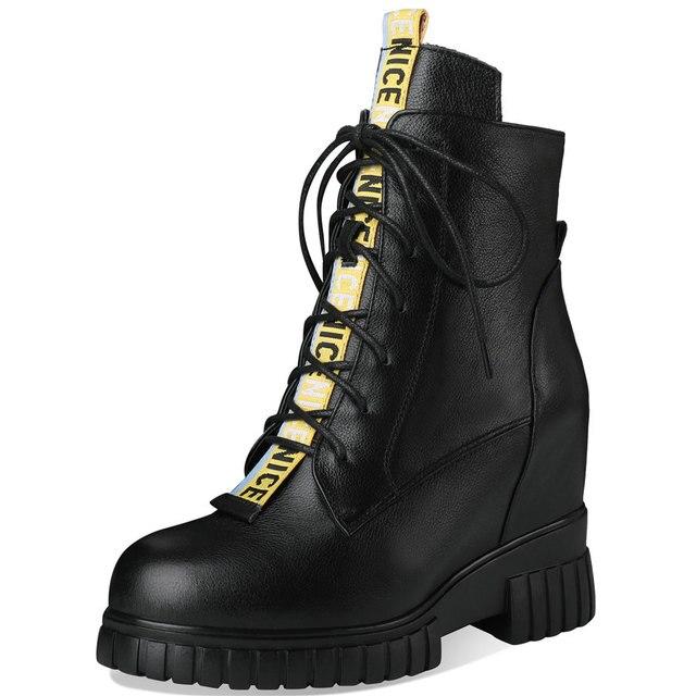 Купить женские ботильоны со шнуровкой туфли лодочки из натуральной картинки цена