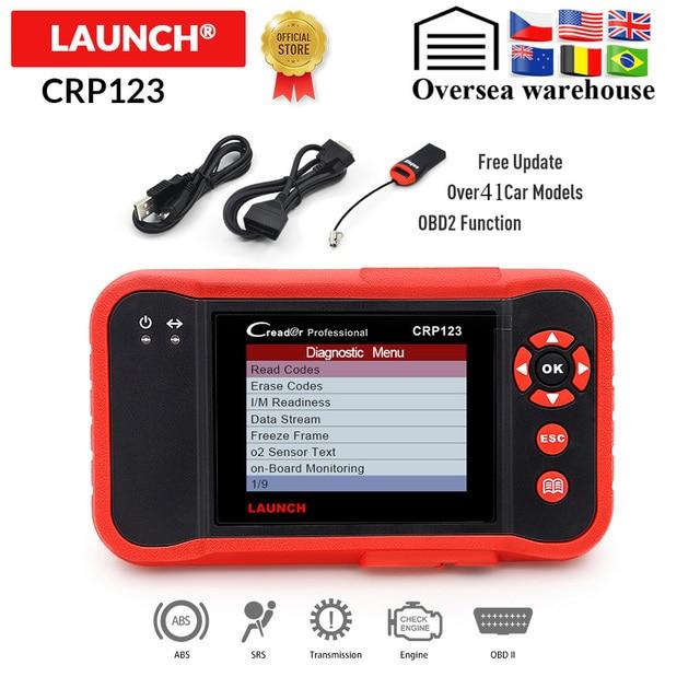 起動 Creader CRP123 プロ OBD2 コードリーダースキャナ X431 CRP 123 自動診断ツール無料アップデート pk Easydiag 3.0 AD610