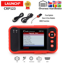 LAUNCH Creader CRP123 Professionele OBD2 Code Reader Scanner X431 CRP 123 Auto diagnostic tool gratis update pk Easydiag 3.0 AD610