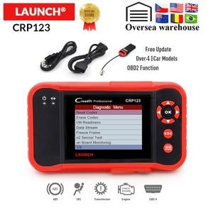 Image 1 - LAUNCH Creader CRP123 Professionele OBD2 Code Reader Scanner X431 CRP 123 Auto diagnostic tool gratis update pk Easydiag 3.0 AD610