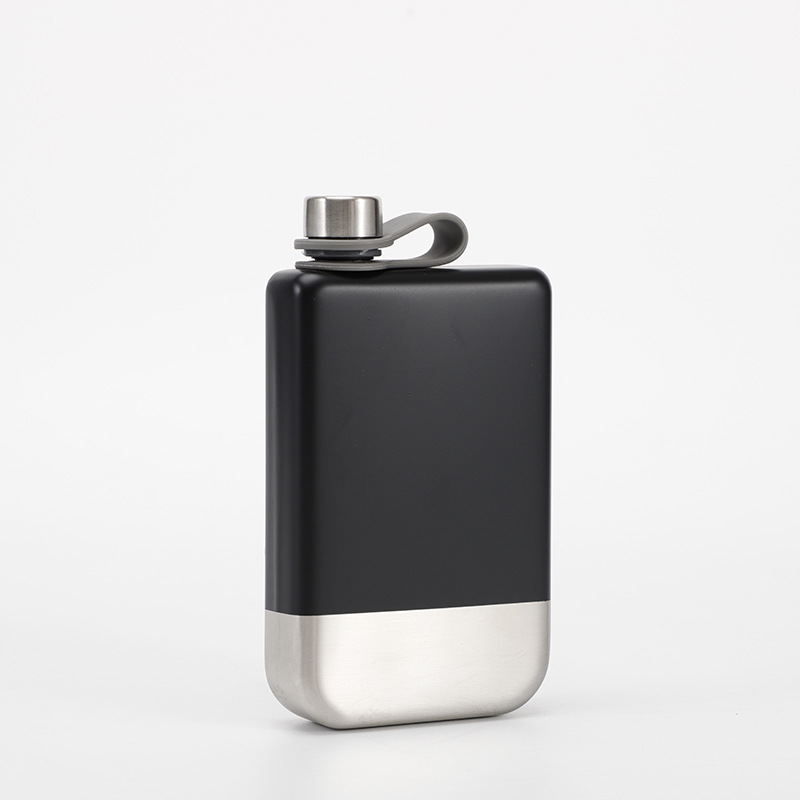 2020 New Design 9 Oz Stainless Steel 304 Hip Flask Whiskey Wine Bottle Alcohol Pocket Flagon For Gifts