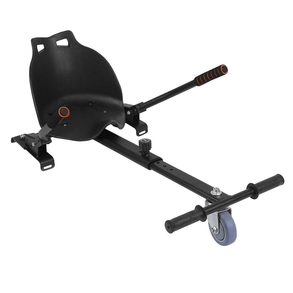 White Adjustable Hover Go Kart Car For HoverKart Seat for Hoverboard Accessory