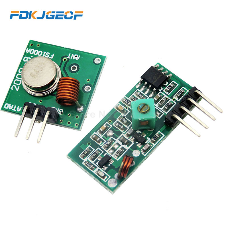 Wireless Remote Control Switch Module Board 433Mhz RF Transmitter Receiver Transceiver For Arduino