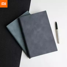 цена на Xiaomi Mijia Youpin Retro Business Leather Notepad Business Notebook for Office 144 Pages Simple Practical Notebook