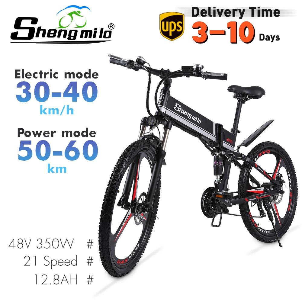 2021 novo m80 adulto fora de estrada bicicleta elétrica 26 polegada ebike 350w 12.8ah bateria de lítio dobrável bicicleta elétrica de montanha para homem