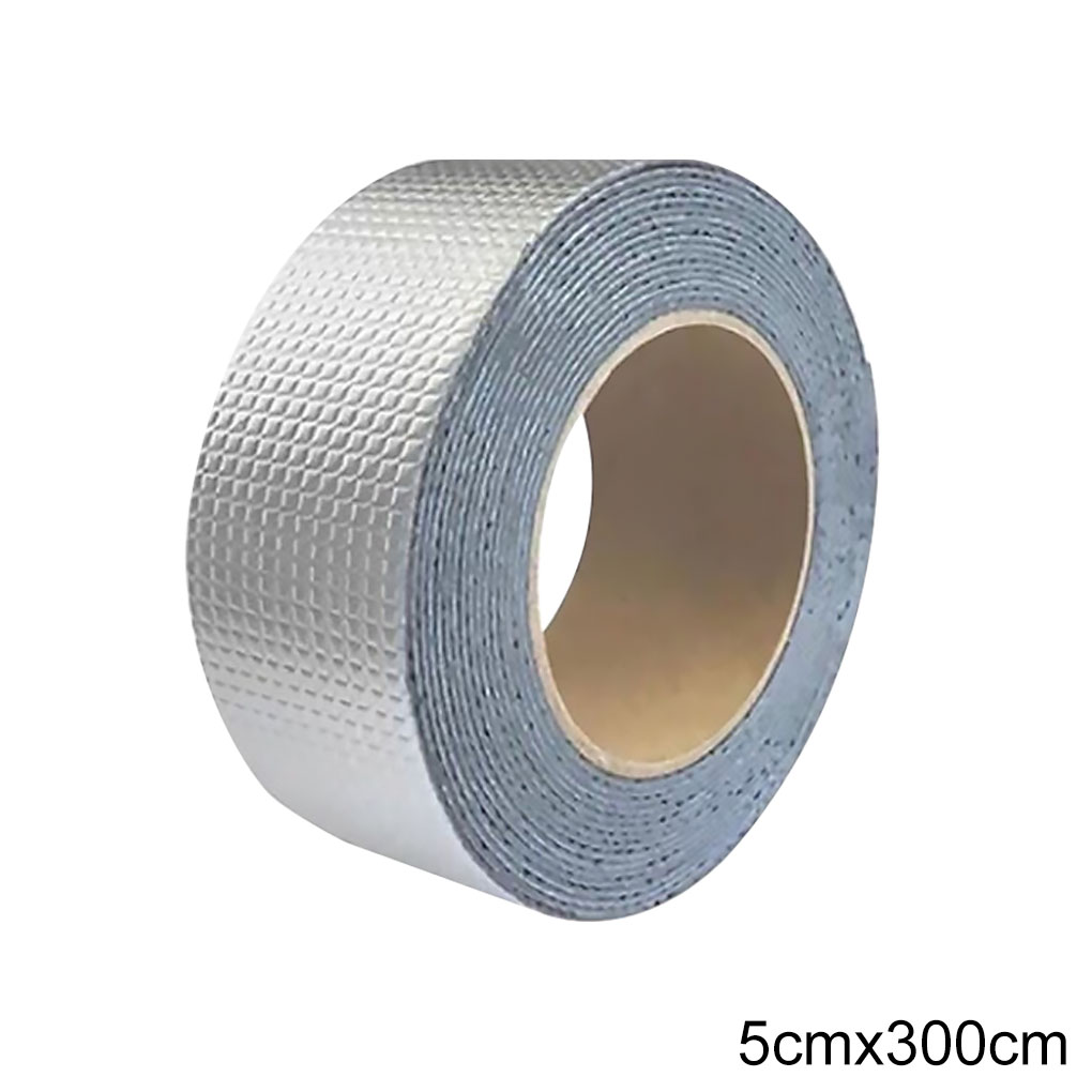 High Viscosity Waterproof Tape Sealing Adhesive Aluminum Foil Tape Butyl Rubber Band for Repairing Surface Crack Roof