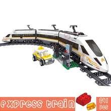 641 + шт городской поезд Мощность строительные блоки игрушки