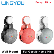 Lingyou Outlet Wall Mount Holder Cord Beugel Voor Google Thuis Mini Voice Assistent Plug In Keuken Slaapkamer Audio Stand