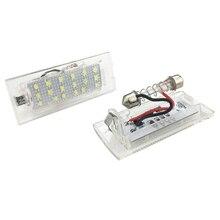 רכב סטיילינג Led צלחת אור גבוהה כוח עבור BMW E53 E83 X3 2004 2009X5 1999 2003 canbus לוחית רישוי מנורת מספר זנב אורות