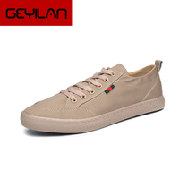 New Men's Cavans shoes Vulcanized shoes Man Casual lace up shoes male loafers students fashion shoes