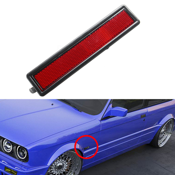 Car Replacement Rear Bumper Side Marker Light Lamp Lens For Bmw E30 E32 E34 3 Series Turn Signal Lamp Lens Car Accessories image