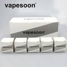 20pcs VapeSoon Replacement bubble pyrex Glass Tube For Asmodus Dawg RTA With 25m