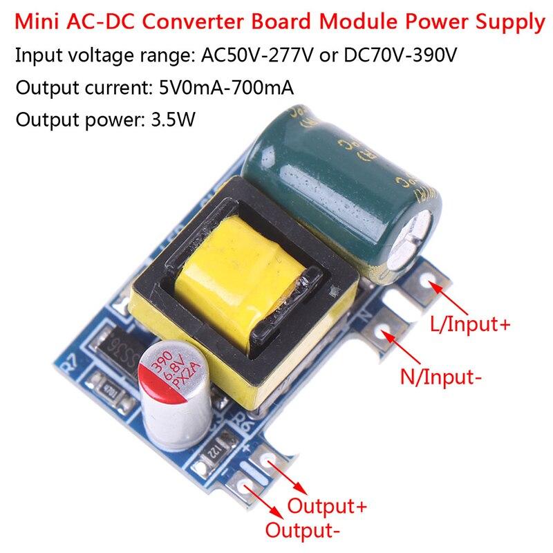 5PCS Hot New Mini AC-DC 110V 120V 220V 230V To 5V 12V Converter Board Module Power Supply Wholesale-1