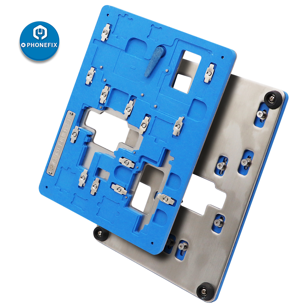 MJ K31 6 in 1 PCB Board Holder Multi-Function Motherboard Welding Repair Fixture for iPhone X XS XSMAX 11 11Pro 11Pro MAX