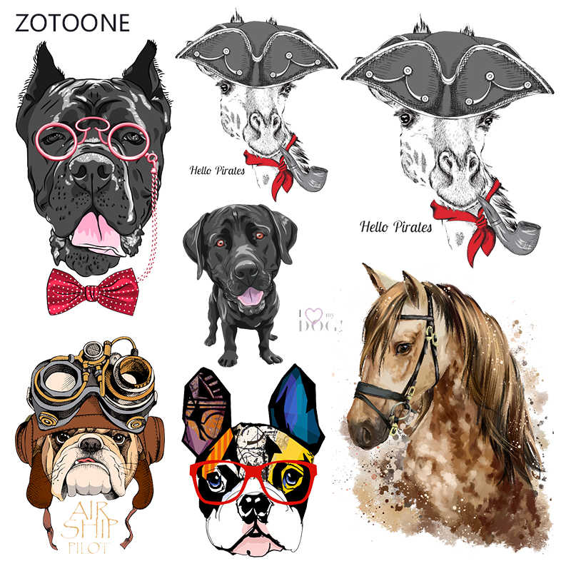 Zotoone Strepen Iron On Transfer Patches Op Kleding Diy Paard Patch Warmteoverdracht Voor Kleding Decoratie Stickers Accessoires G