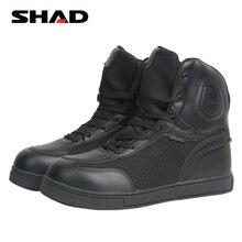Moto, chaussures d'équitation étanches, à pédale, respirantes, pour Cruiser, Cruiser, bottes + 2 lacets, décontracté