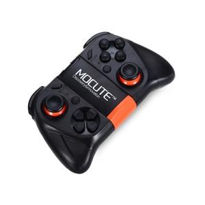 Image 2 - MOCUTE لوحة ألعاب VR 050 ، وحدة تحكم بلوتوث ، عصا تحكم لصور السيلفي ، جهاز تحكم عن بعد للكمبيوتر الشخصي والهاتف الذكي وحامل الهاتف