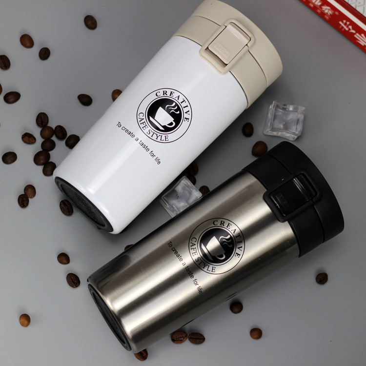 H04808020b53343f6a44aa5f4c86c3c9fz HOT Premium Travel Coffee Mug Stainless Steel Thermos Tumbler Cups Vacuum Flask thermo Water Bottle Tea Mug Thermocup