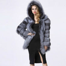 Winter frauen mantel faux pelz teddy jacke mit kapuze strickjacke nerz plaid pelz outwear verdicken warme schnee tragen frauen kleidung plus 4XL(China)