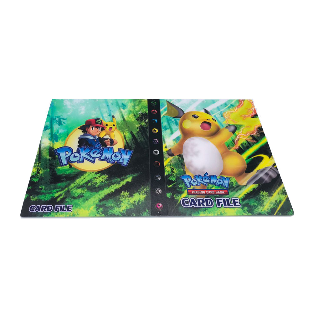 240 шт. держатель Альбом игрушки коллекции Pokemones карты Альбом Книга Топ загруженный список игрушки подарок для детей - Цвет: Album 14  240 holder