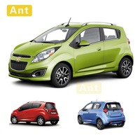Ant 1:24 CHEVROLET SPARK Car Alloy Diecast Car Model Toy With Pull Back For Children Gifts Toy Collection