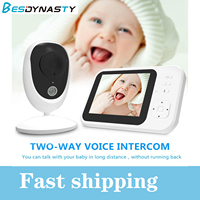 Baby Monitor with Camera HD WiFi Video Baby Sleeping Nanny Audio Night Vision Home Security baby monitor with camera
