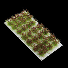 Cañas de césped autoadhesivas, 8 Uds., modelo de paisaje terreno 1:35 1:48 1:72
