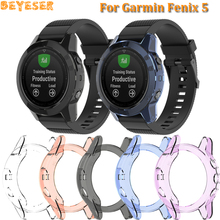 For Garmin Fenix 5 Plus Protective frame Smart replacement accessories TPU Watch Protector cases