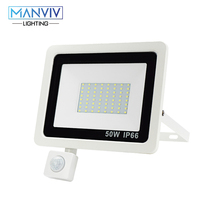 PIR Motion Sensor LED Floodlight 10W 20W 30W 50W 100W 220V Waterproof Outdoor Wall Garden LED Spotlight Reflector Foco Lamp led flood light 10w 20w 30w 50w 100w floodlight cob led spotlight outdoor lighting projector reflector garden squarer wall lamp
