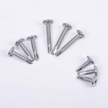 100Pcs/set M5.5 16mm 19mm 25mm Stainless Steel 401 Hexagonal Countersunk Screw Flat Head Screw Bolt Household Tool 80sets stainless steel mirror nail decorative screw cover caps hotsale with factory price 16mm