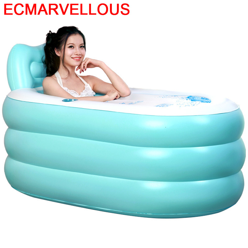 Doublele Booster Seat Hot Tub Spa Cushion Inflatable Pad for Adults Kids