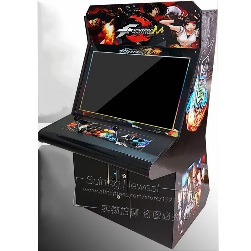 19 inch Screen Arcade Games Video Simulator Token Coin Operated Cabinet Game Machine image