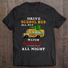 Drive A School Bus All Day Watch Hallmark Christmas Movies All Night School Bus