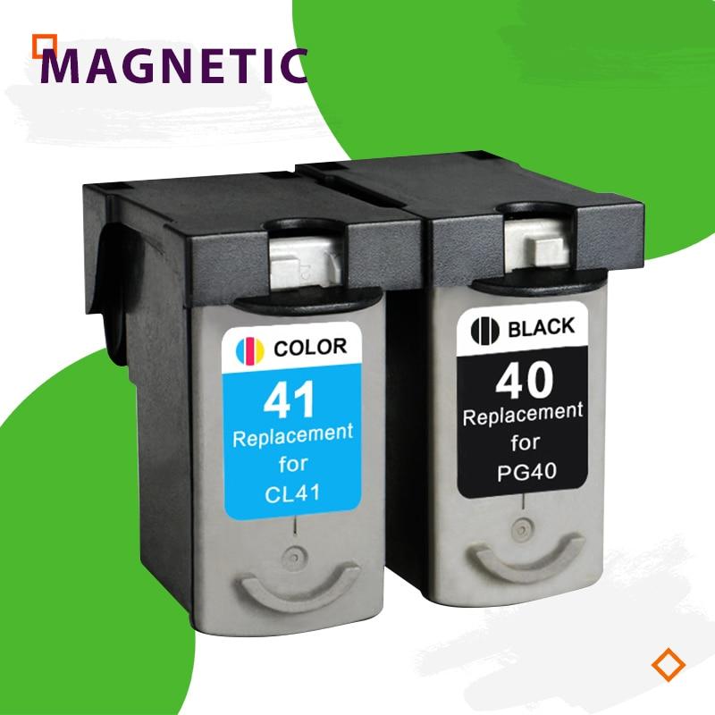 Совместимый чернильный картридж PG40 CL41 для принтеров Canon PG 40 CL 41 PIXMA iP1600 iP1200 iP1900 MX300 MX310 MP160 MP140 MP150